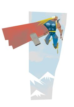 'Thor' by Robert Ball.