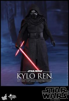 Hot Toys Reveals Star Wars: The Force Awakens Kylo Ren and First Order Stormtrooper Figures - IGN