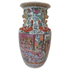 Check out this item at One Kings Lane! Antique Famille Rose Vase