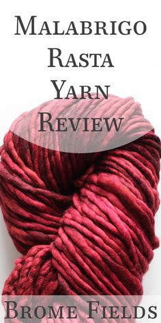 Video Yarn Review: See How This Malabrigo Rasta Yarn Knits Up. Perfect!