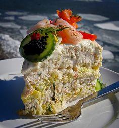 Smörgåstårta/Sandwich Cake