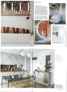 AYTM's Unity mirror and Vitreus vase featured in ELLE, Mar, 2020. Unity, Blogging, This Is Us, Photo Wall, Vase, Mirror, Home Decor, Fotografie, Room Decor