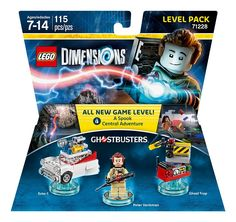 Amazon.com: Ghostbusters Level Pack - LEGO Dimensions: Toys & Games