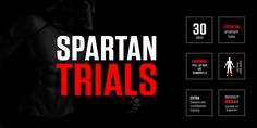 Spartan Trials: 30-Day Fitness Program