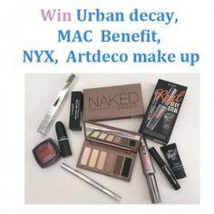 Win Urban decay MAC  Benefit NYX  Artdeco make up ^_^ http://www.pintalabios.info/en/fashion-giveaways/view/en/3632 #International #MakeUp #bbloggers #Giweaway