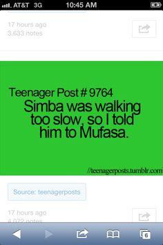 Teenager Post hahahahaahahhahaahahaaaaaaaaaa *clapping my hand together and laughing like  an idiot*