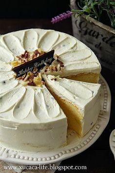 Passion Fruit Light Cheesecake