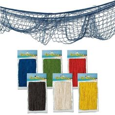 Decorative Fish Net by Fun Express, http://www.amazon.com/dp/B005DS5B76/ref=cm_sw_r_pi_dp_-X6osb0NR6N5B