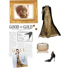"""""""Good as Gold"""" by rollaelhindy on Polyvore"""