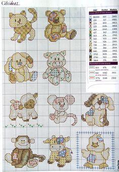 Cross-stitch Critters... Gallery.ru / Фото #1 - 10 - mikolamazur