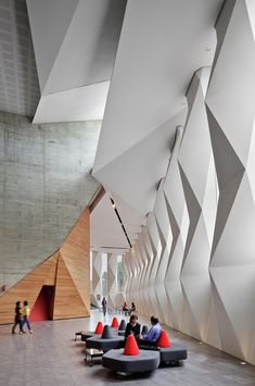 Gallery - Roberto Cantoral Cultural Center / Broissin Architects - 24 Cantoral, Architecture Details, Interior Architecture, Interior Design, Call For Entry, Concert Hall, Showroom Design, Cultural Center, Boutique Design