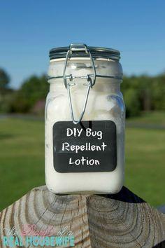 Easy DIY Bug Repellent Lotion