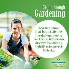 Get fit through gardening!