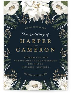 Botanical borders by Minted: http://www.stylemepretty.com/2016/04/28/minteds-favorite-invitation-trends-of-2016-a-giveaway/