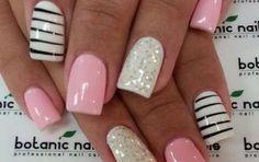 Uñas decoradas: Modelos sencillos para copiar [FOTOS] - Toma nota de los siguientes diseños de uñas decoradas que puedes copiar. ¡Presume de nail art a la moda!