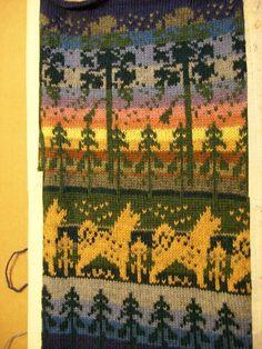 Neuleet lahjaksi naiselle tai miehelle | Päivineule, Joensuu, Lieksa Fair Isle Knitting Patterns, Knitting Charts, Loom Knitting, Tapestry Crochet, Knit Crochet, Knit Pillow, Christmas Knitting, Mittens, Bohemian Rug