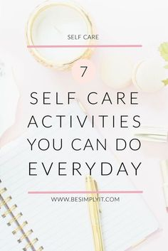 Want to up your self care game without creating more hours in the day? Try these 7 highly time efficient self care lifestyle changes to rock at self care!