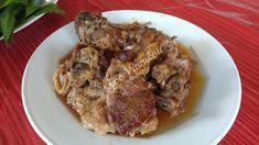 Αρνί τσιγαριαστό (παραλλαγή με κρασί) Pork, Meat, Kale Stir Fry, Pork Chops