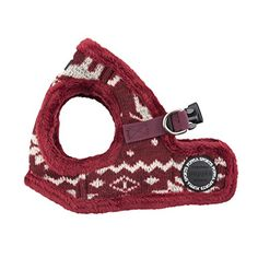 Puppia Cupid Harness-B for Pets, Wine, Medium * Find out more details @