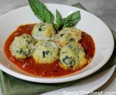 Malfatti in Tomato-Garlic Sauce - Savor the Best