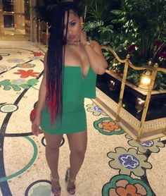 """[Pic] Love & Hip Hop Atlanta's Tammy Rivera Rejects """"Good Hair"""" With an Afro Reveal"""
