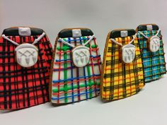 """""""Gathering of the clans. #happyrobbieburnsday # kilt #cookies"""""""