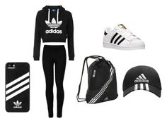 """♥ Adidas ♥ Edition"" by httpemmy on Polyvore featuring Topshop, adidas and Wolford"