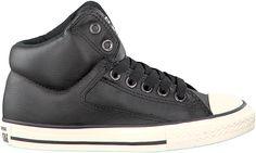 voordelige Zwarte Converse Sneakers CHUCK TAYLOR A.S. HIGH STREET