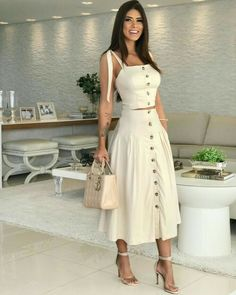 Semi Casual Outfit Women, Casual Fall Outfits, Classy Outfits, Chic Outfits, Spring Outfits, Fashion Outfits, Semi Casual Dresses, Trendy Outfits, Girl Fashion