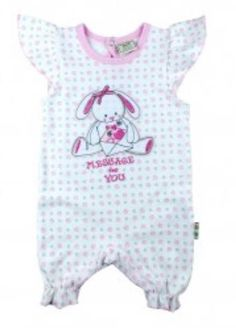 'Bunny' Cotton Romper £7.00 Sizes Tiny, Newborn and 0-3m  Purchase here http://grubby-hands.myshopify.com/?afmc=d