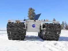 NASA Rover Grover set to Explore Greenland Ice Sheet