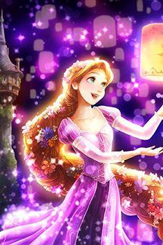 ディズニー  iPhone/Androidスマホ壁紙(640×960)-1 - 夜空に灯る夢(ラプンツェル) Disney Princesses And Princes, Disney Princess Rapunzel, Disney Princess Drawings, Disney Princess Pictures, Princess Art, Disney Tangled, Disney Fun, Disney Drawings, Images Disney