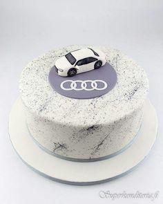 audi birthday cakes for men ; birthday cake for men audi Birthday Cakes For Men, Birthday Cake For Husband, Funny Birthday Cakes, Birthday Cake With Photo, Car Birthday, Happy Birthday, Audi Cake, Audi Torte, Easy Cake Decorating