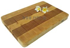 Relix End grain sycamore and white oak cutting board $65