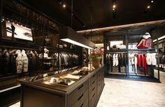 MONCLER PART II: shop designs by Gilles & Boissier