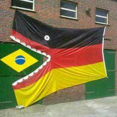Quelques images parodiques de la défaite du Brésil (Coupe du Monde 2014) - Image
