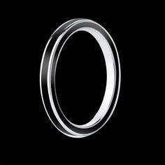 Alliance homme Full Laque noire en or blanc 18 K. Choisissez la couleur de laque que vous souhaitez parmi 21 coloris. Disponible également en or jaune #alliance #alliancehomme #mariage #FullLaque #orblanc #BijouxHomme #surmesure #joaillerie @JaubaletParis