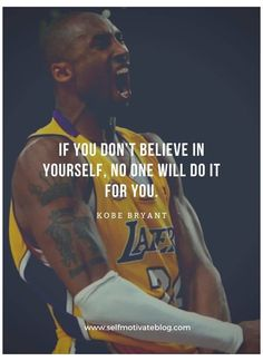 33 Fascinating Kobe Bryant Quotes #athlete #quotes #motivational #athletequotesmotivational He was not only a great player but an excellent leader too. A role model for so many young kids. Here we show-cases you some fascinating kobe bryant quotes Kobe Quotes, Kobe Bryant Quotes, Jordan Quotes, Kobe Bryant Family, Kobe Bryant 24, Lakers Kobe Bryant, Young Kobe Bryant, Basketball Kobe, Basketball Motivation
