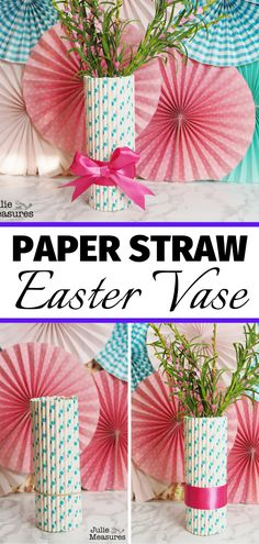 Perfect for Easter and spring parties Thanksgiving Crafts, Easter Crafts, Christmas Crafts, Easter Backdrops, Backdrops For Parties, Galaxy Easter Eggs, Cute Crafts, Diy Crafts, Paper Succulents