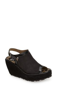 Fly London 'Pyle' Wedge Sandal (Women) available at Fly London Shoes, Types Of Shoes, Things To Buy, Wedge Sandals, Me Too Shoes, Nordstrom, Footwear, Wedges, Buy Buy