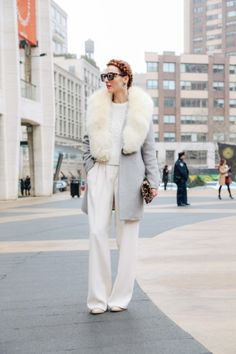 Winter neutrals: http://www.stylemepretty.com/living/2015/02/19/our-favorite-nyfw-street-style/