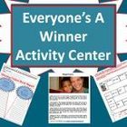 Thoughtful activities to encourage winning characteristics - like winning smiles and attitudes rather than winning races - for 3rd, 4th, 5th graders.  Check the product preview to see all pages included in this download - from Subplanners.
