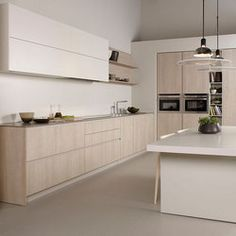 Serie 45 | Oak clear shaded | Cuisines intégrées | dica