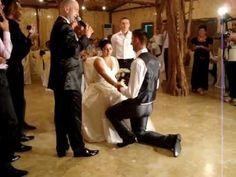 Declaratie de dragoste sotiei, O declaratie la nunta