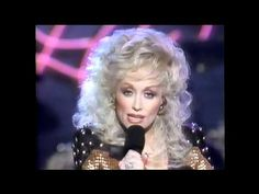 """Dolly Parton ~ """"Jolene"""", song released in 1973, but this video clip is from 1988."""