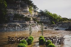 EVERY.THING Ceremony in the River Hand-rolled Cigars Ripping the shirt!   Ariel Renae Photo | Destination Wedding Photographer