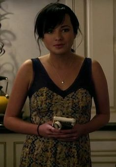 Jenna Hamilton's dress from the New Years party on Awkward.  Outfit Details: http://wornontv.net/4344/ #Awkward