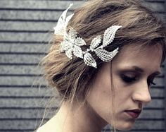 Lace small wedding comb crystal wedding comb crystal and