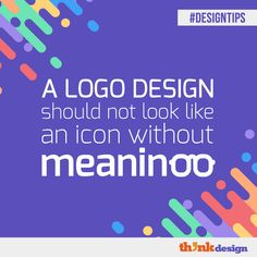 A Logo Design Should Not Look Like An Icon Without Meaning Make A Color Palette, Create Your Own Background, Your Design, Web Design, Friends Font, Visual Hierarchy, Line Tools, Online Logo, Designer Friends