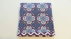 Modern Baby Quilt Grey Purple Baby Quilt by TakeTwoBabyQuilts, $44.99